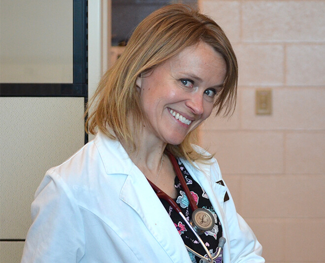 Dr. Heidi Patterson at Boulder's Natural Animal Hospital